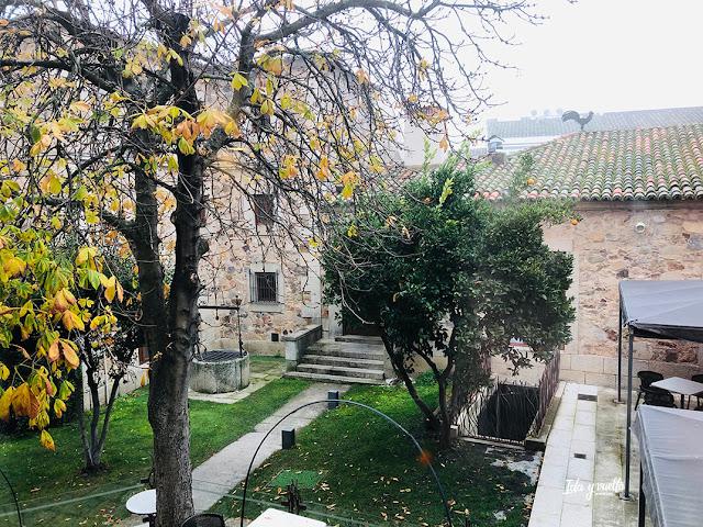 Jardín Parador Cáceres