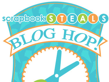 It's the ScrapbookSteals Blog Hop for May!