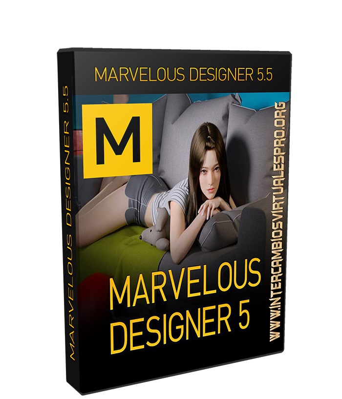 Marvelous Designer 6 Enterprise 2.5.96.23433 poster box cover