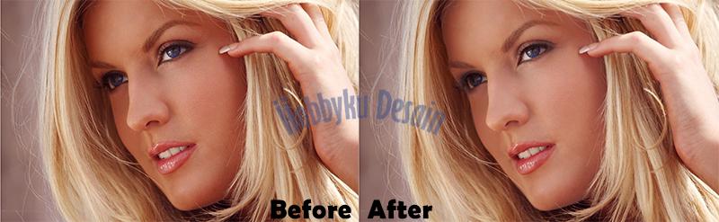 Preview Cara Memutihkan Wajah dengan Photoshop