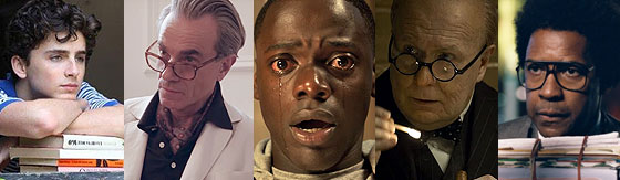 Melhor Ator - Oscar 2018