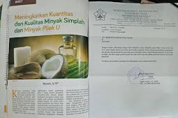 Kajian Variasi Fermentor dan Lama Fermentasi terhadap Kualitas dan Kuantitas Minyak Simplah dan Minyak Pliek U