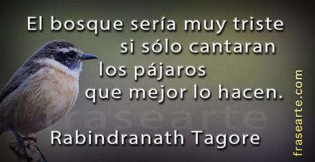 Frases motivadoras - Rabindranath Tagore