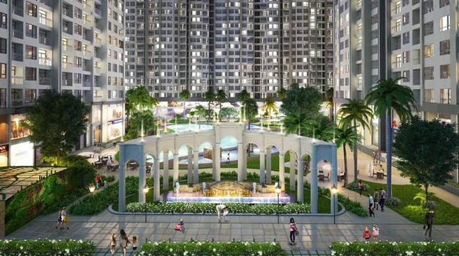 Phối cảnh của dự án Imperia Sky Garden Minh Khai