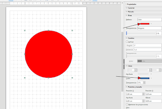 LibreOffice Draw - Trabajando con degradados