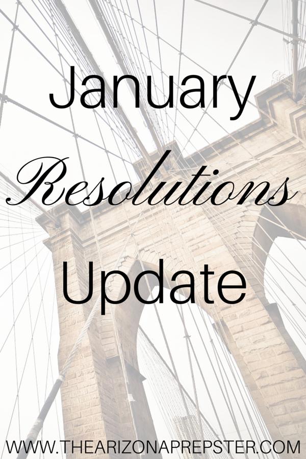 January Resolutions Update