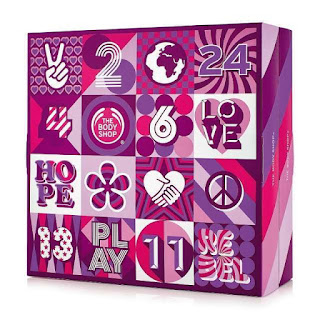 Beauty Adventskalender - Body Shop Adventskalender 24 Days of Beauty Adventskalender