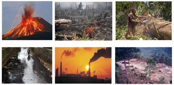 Ekosistem mengalami perubahan sepanjang waktu Penyebab Perubahan Ekosistem