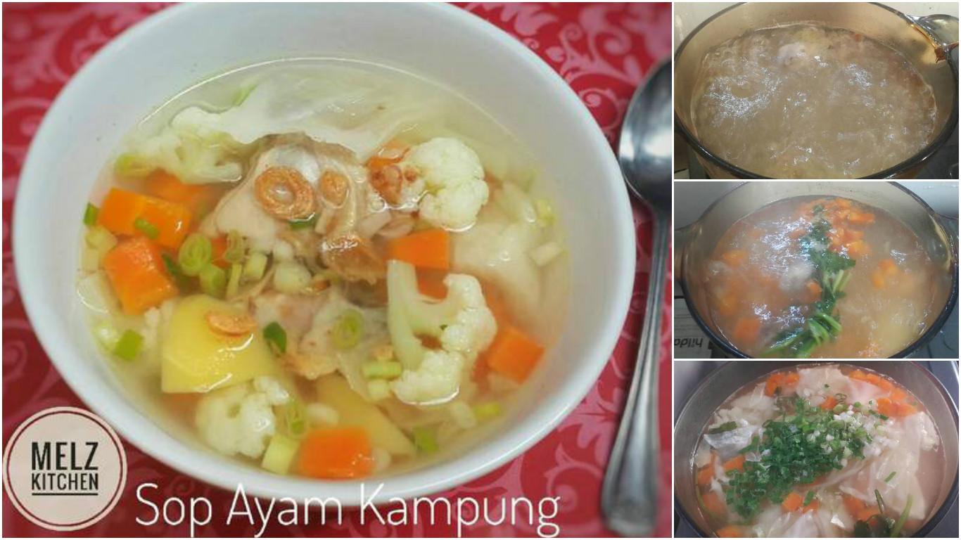 sop ayam kampung resep klasik andalan keluarga modernid Resepi Sup Sayur Kelantan Enak dan Mudah