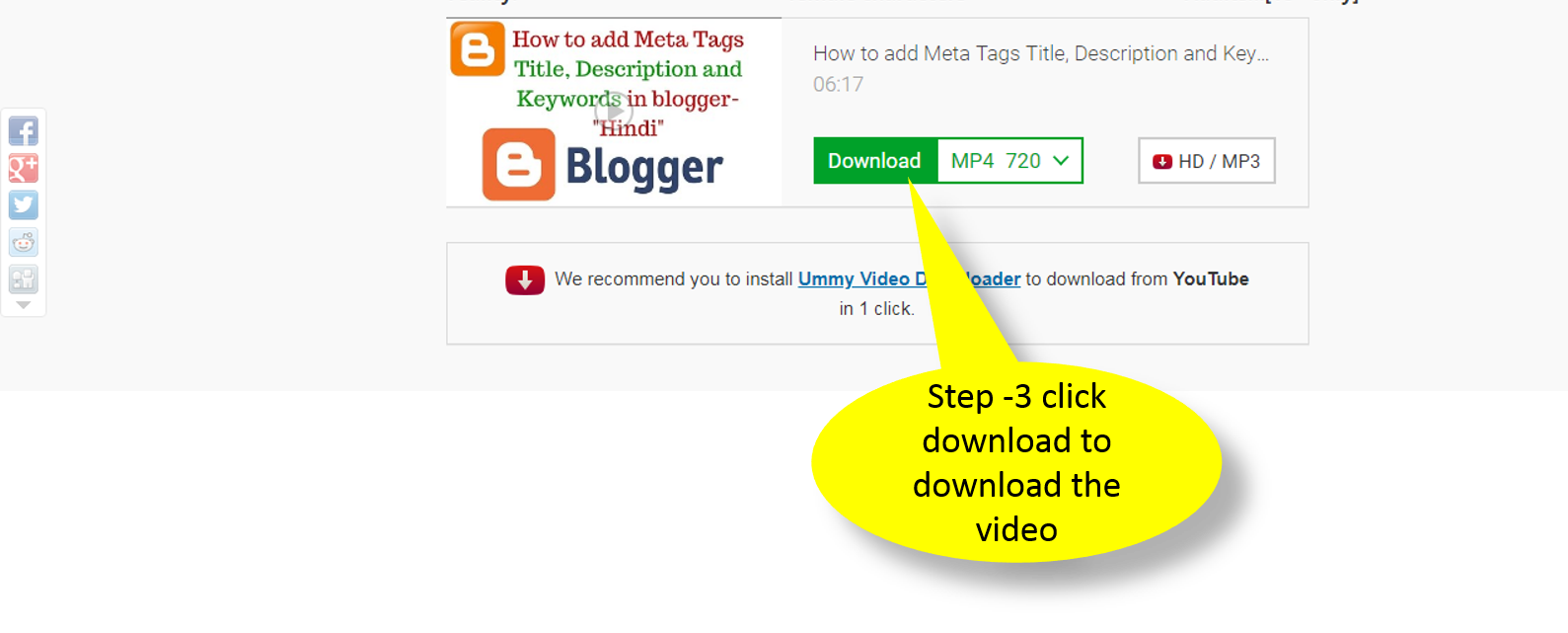 How to download Youtube VIdeo free without any softeware