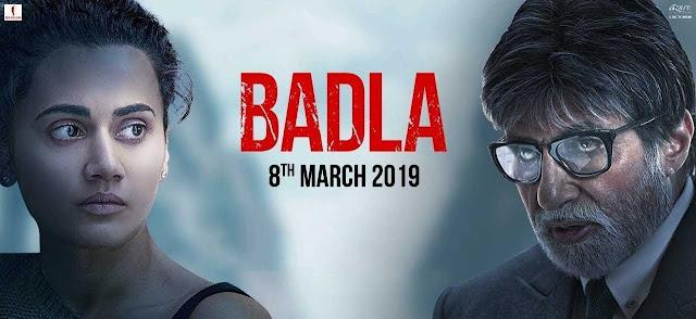 Badla(2019) Badla Movie Badla Bollywood Movies  full movie Download   Full Hd 