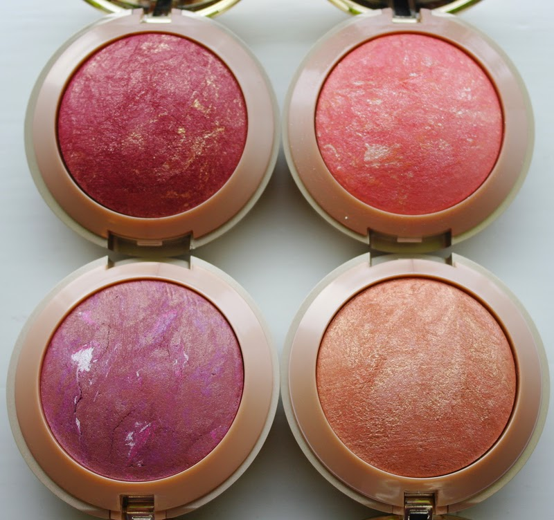 A Close up picture of Milani Baked Blushes