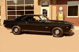 1969 Chevrolet Camaro COPO Clone Side Right
