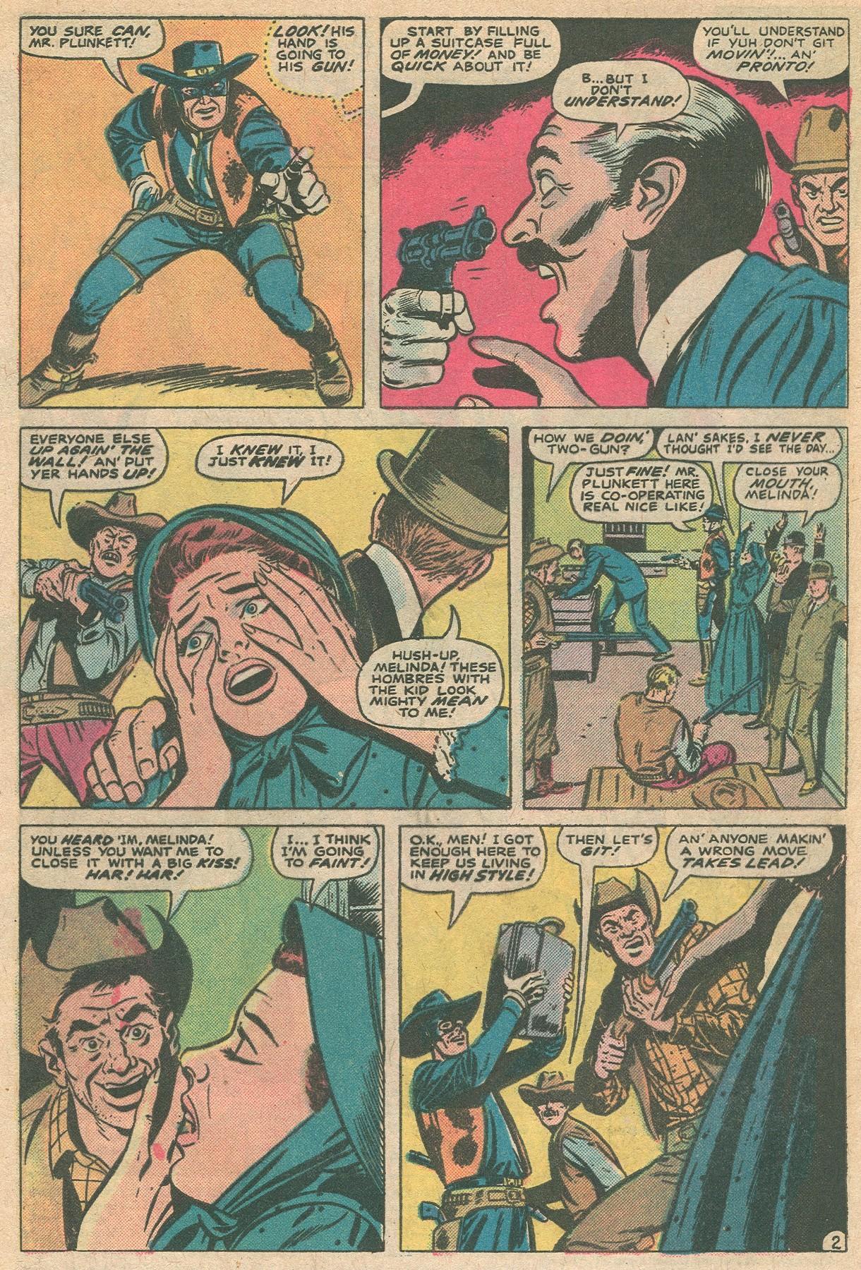 Read online Two-Gun Kid comic -  Issue #124 - 4