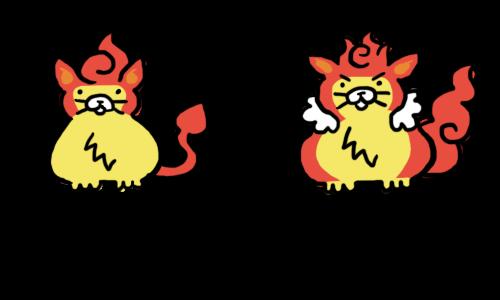 Burn The Internet: New ImPokédex - PansearPokemon Pansear Evolution Chart