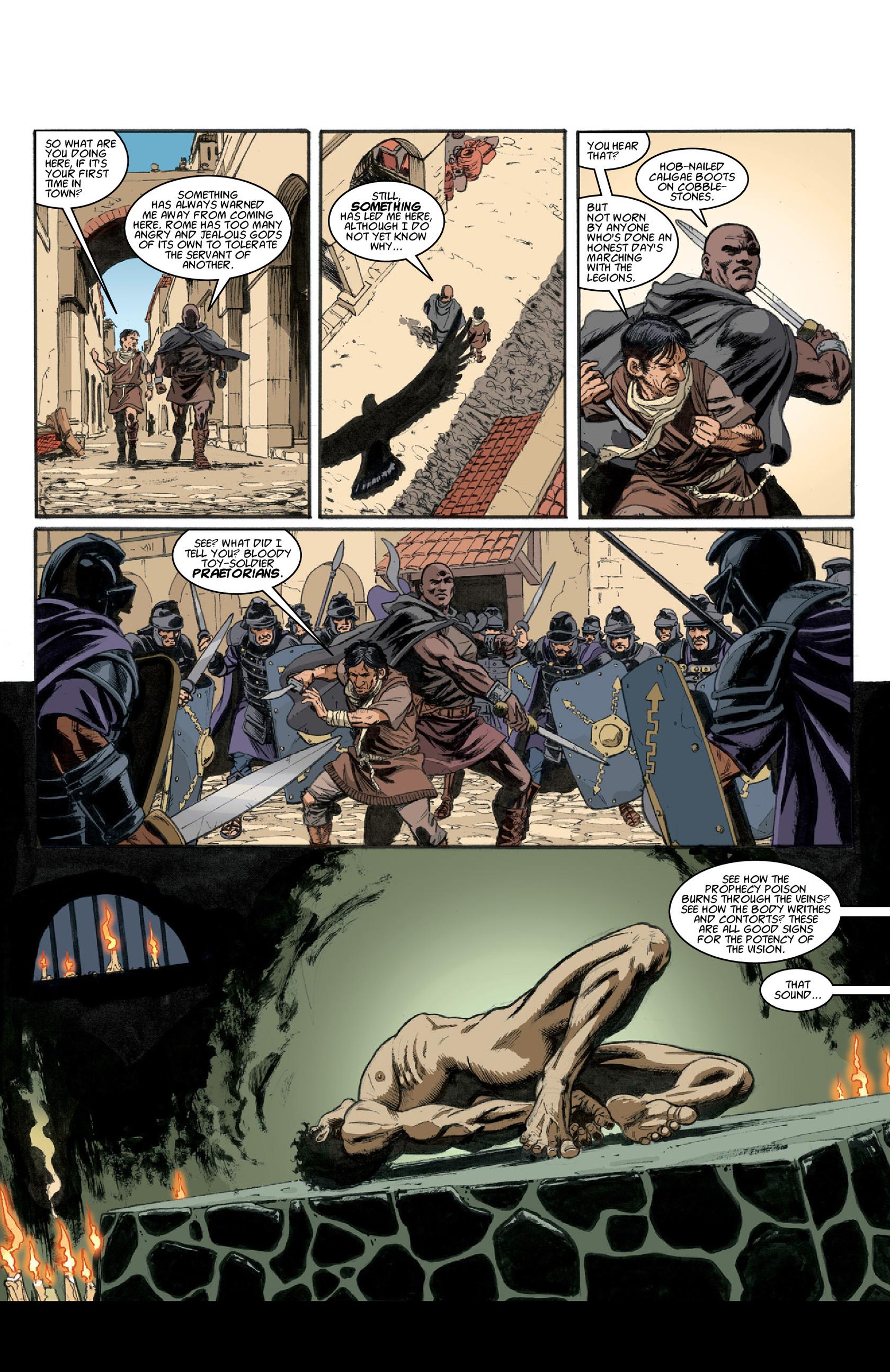 Read online Aquila comic -  Issue #3 - 6