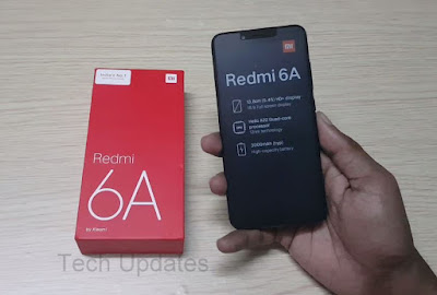 Xiaomi Redmi 6A Unboxing & Photo Gallery