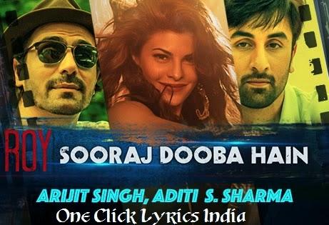 Sooraj Dooba Hain Song Lyrics