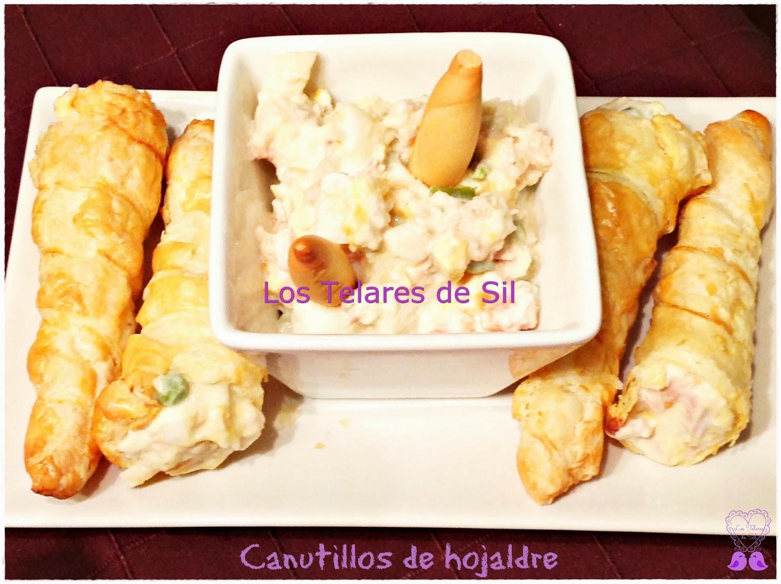 CANUTILLOS DE HOJALDRE