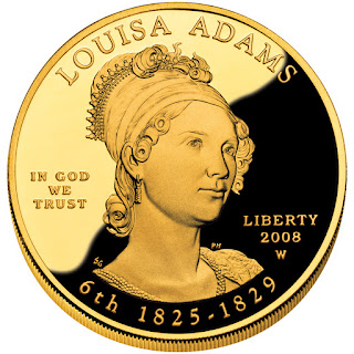 US Gold Coins Louisa Adams First Spouse $10 Dollars Gold Coin