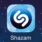 shazam logo application d'esteban
