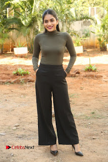 Tollywood Actress Punarnavi Bhupalam Latest Po Gallery in Black Trouser Pant at Pittagoda Movie Interview  0177.JPG