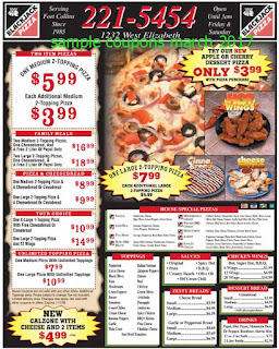Black Jack Pizza coupons march 2017