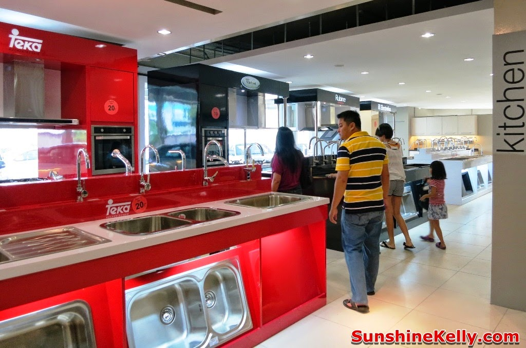 kitchen furniture store oakley sink review sunshine kelly beauty fashion lifestyle travel fitness maju home concept subang usj grand opening