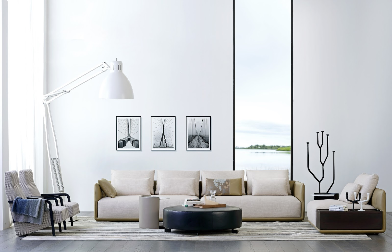 Camerich contemporary furniture The White Approach