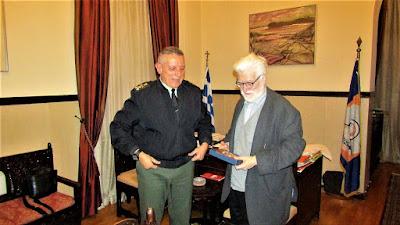 ΓΙΑΝΝΕΝΑ: Συνάντηση του δημάρχου  με τον Διοικητή της 1 ης Στρατιάς