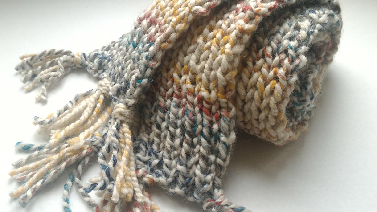 Modern Grace Design: Ribbed Knit Scarf :: Easy Pattern