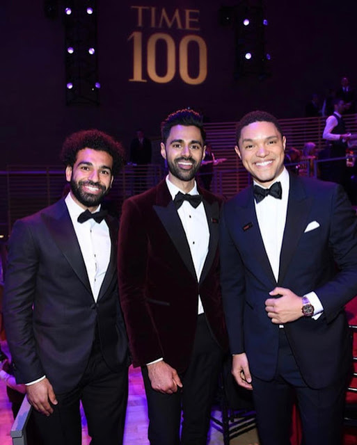 Trevor Noah, Hassan and Mosalah handsomely poses in new photo