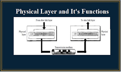functions of physical layer