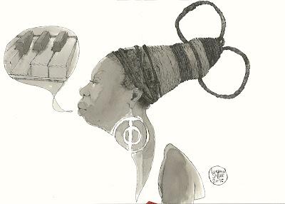 Nina Simone por Luciano Salles