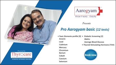 Pro Aarogyam Basic @ Rs. 700 / 12 Tests