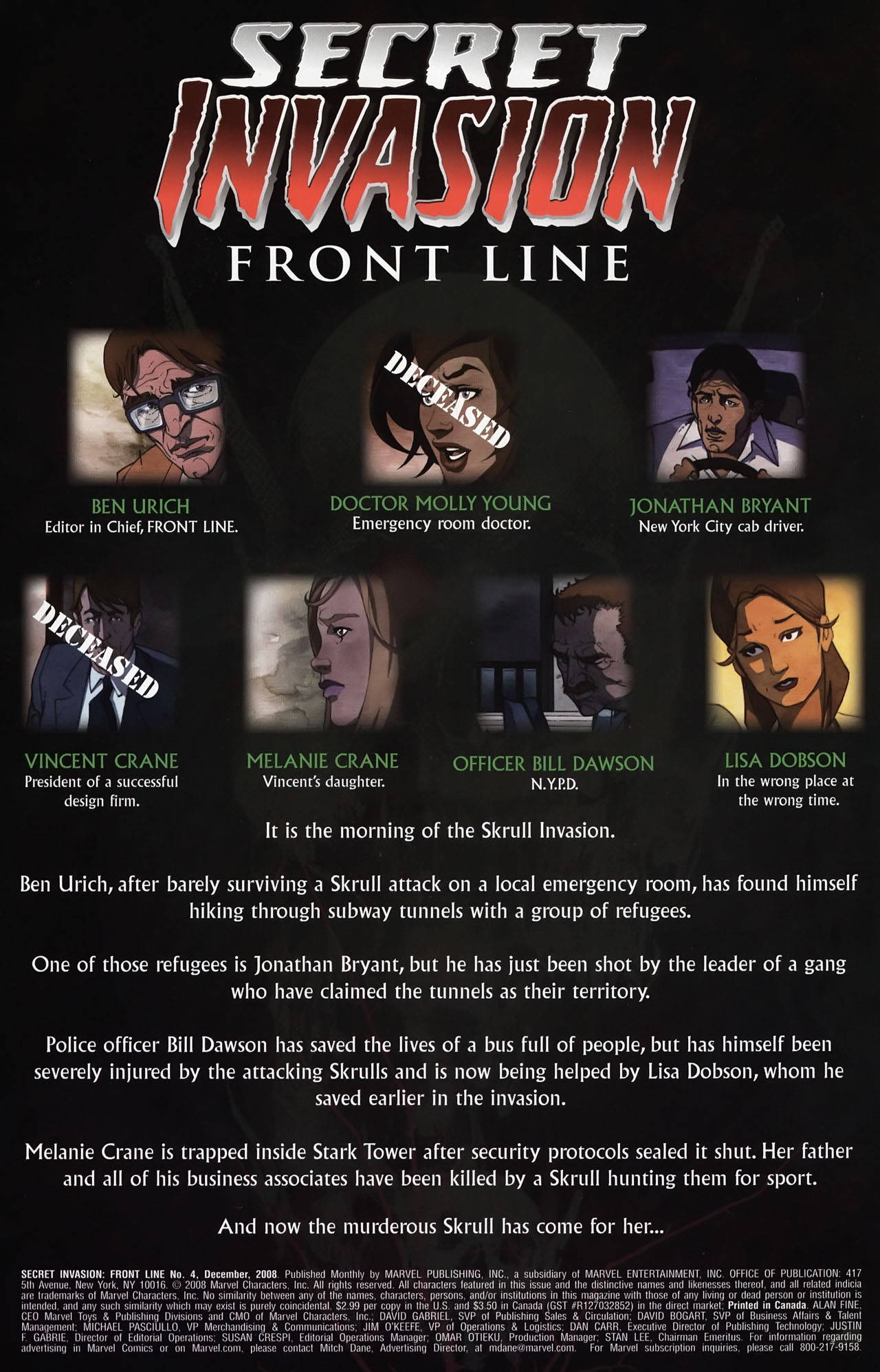 Read online Secret Invasion: Front Line comic -  Issue #4 - 3