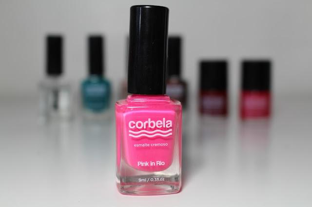 Pink in Rio - Esmalte Corbela