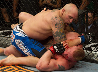 Shane Carwin vs. Brock Lesnar Full Fight