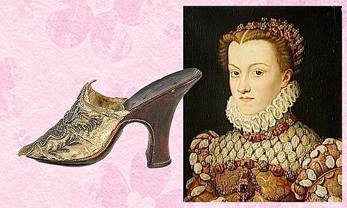 sepatu wanita hak tinggi pertama rancangan catherine