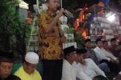 CAMAT HADIRI ACARA MALAM  TASYAKURAN DI KELURAHAN TAMBORA  HUT RI KE 72