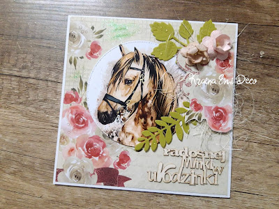 Kartka dla milośniczki jazdy konnej