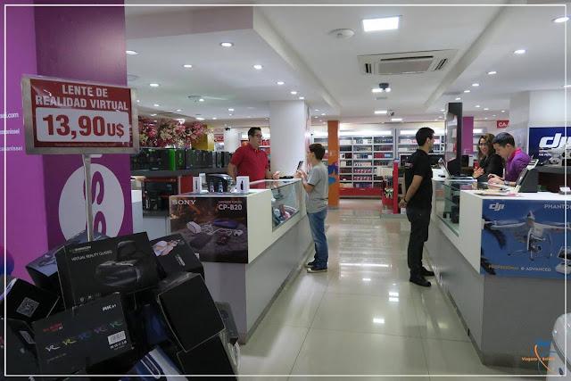 Casa Nissei, loja de eletrônicos no Paraguai.