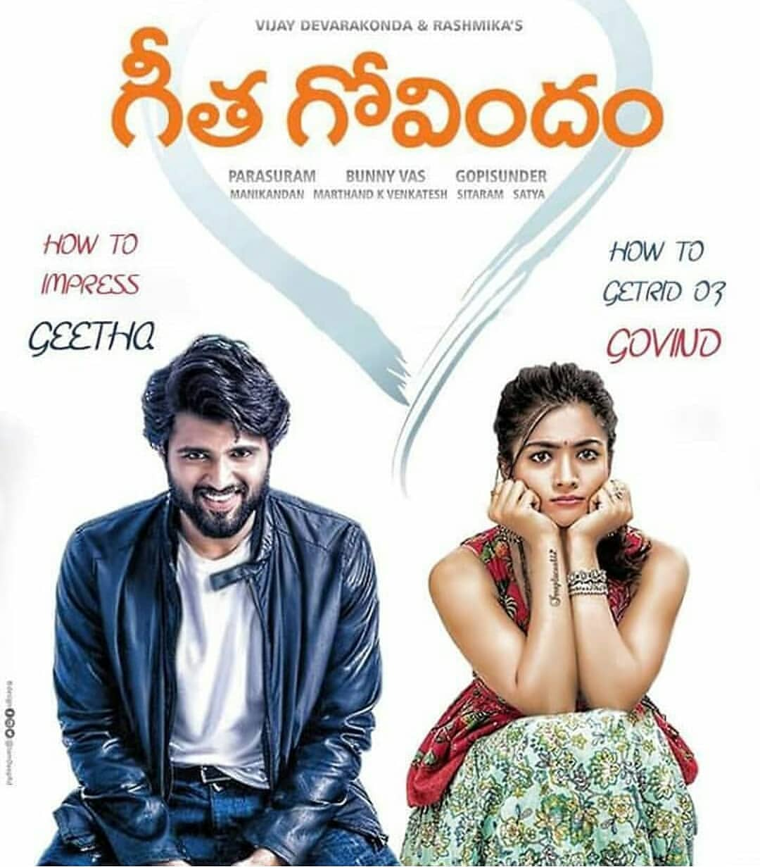 Geetha Govindam (2018) Movie 720p WEB-HDRip 1.4GB Download With Bangla Subtitle