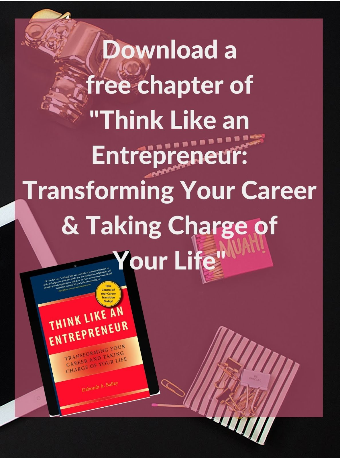 Download a Free Chapter of the Think Like an Entrepreneur book