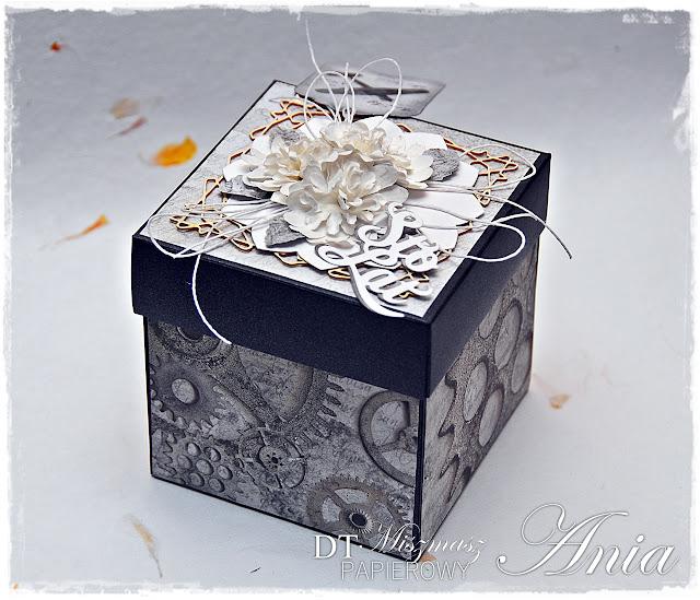Męski urodzinowy Exploding Box