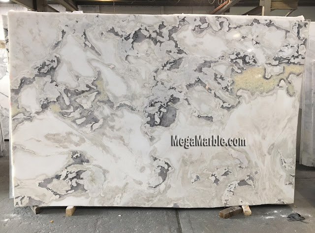 Caribbean Island marble slabs for countertops