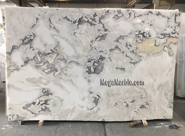 Caribbean Island marble slabs for countertops