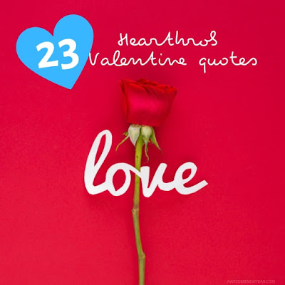 23 Valentine Heartthrob quotes and wishes for lovers