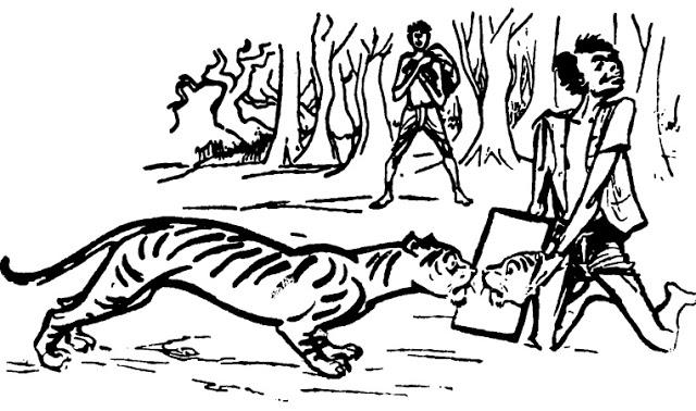 বোকা সাথী ( নাপিত-তাঁতীর হাসির গল্প)