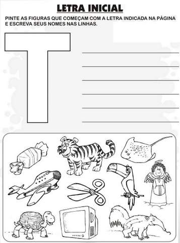 Lista De Palavras Alfabeto Aprender E Brincar